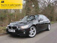 2013 BMW 3 SERIES 3.0 330D M SPORT 4d AUTO 255 BHP £14995.00