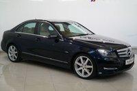 2012 MERCEDES-BENZ C CLASS 2.1 C220 CDI BLUEEFFICIENCY SPORT 4d AUTO 168 BHP £10450.00