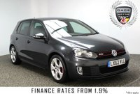 USED 2012 62 VOLKSWAGEN GOLF 2.0 GTI DSG 5DR AUTO SAT NAV HEATED LEATHER 210 BHP  FULL SERVICE HISTORY + HEATED LEATHER SEATS + SATELLITE NAVIGATION + REVERSE CMAERA + BLUETOOTH + PARKING SENSOR + CRUISE CONTROL + CLIMATE CONTROL + MULTI FUNCTION WHEEL + 17 INCH ALLOY WHEELS
