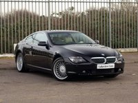 2004 BMW 6 SERIES 4.4 645CI 2d AUTO 329 BHP £6445.00