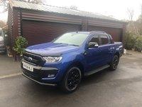 USED 2018 68 FORD RANGER 3.2 WILDTRAK X 4X4 DCB TDCI 1d AUTO 197 BHP No VAT Finance arranged
