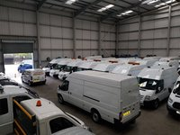 USED 2013 13 FORD TRANSIT 350 LWB 2.2Tdci 125 T350EF CURTAIN SIDE LUTON BOX VAN DRW