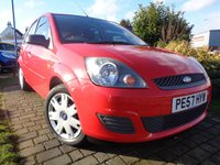 2007 FORD FIESTA 1.4 STYLE CLIMATE 16V 5d 78 BHP £3289.00