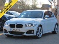 2016 BMW 1 SERIES 2.0 125D M SPORT 5d AUTO 221 BHP £16499.00