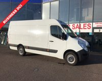 2015 RENAULT MASTER 2.3 MML35 BUSINESS DCI S/R P/V 1d 125 BHP £10495.00