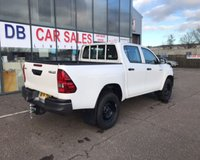 USED 2018 18 TOYOTA HI-LUX 2.4 ACTIVE 4WD D-4D DCB 1d 148 BHP NO DEPOSIT AVAILABLE, DRIVE AWAY TODAY!!