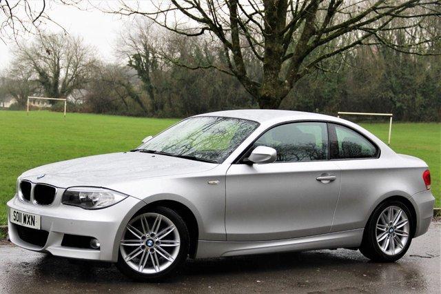 2011 11 BMW 1 SERIES 2.0 118D M SPORT 2d 141 BHP