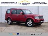 USED 2014 14 LAND ROVER DISCOVERY 3.0 SDV6 XS 5d AUTO 255 BHP One Owner Full Dealer History Buy Now, Pay Later Finance!