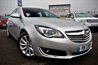 2015 VAUXHALL INSIGNIA 2.0 ELITE NAV CDTI 5DR AUTO 160 BHP £6995.00
