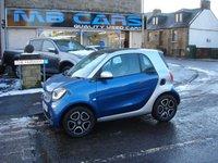 2015 SMART FORTWO 1.0 PRIME PREMIUM PLUS 2d AUTO 71 BHP £7495.00
