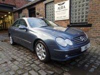 2005 MERCEDES-BENZ CLK 2.7 CLK270 CDI ELEGANCE 2d AUTO 170 BHP £3795.00