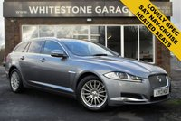 USED 2013 13 JAGUAR XF 2.2 D SE BUSINESS SPORTBRAKE 5d AUTO 163 BHP FSH, SATELLITE NAVIGATION, POWER TAILGATE, ELECTRIC HEATED SEATS, CRUISE AND CLIMATE CONTROL, PARKING SENSORS. MERIDIAN SURROUND SOUND,