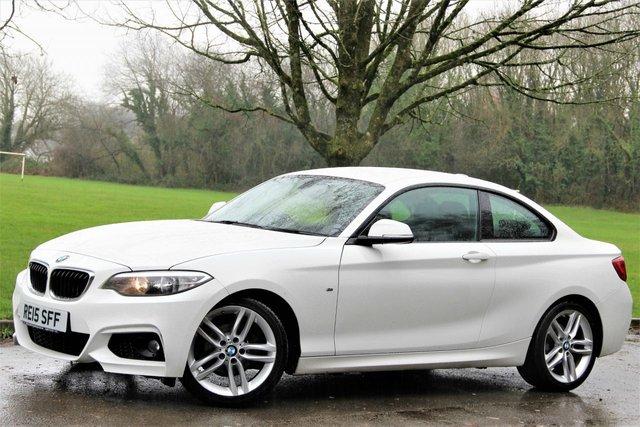 2015 15 BMW 2 SERIES 2.0 218D M SPORT 2d 141 BHP