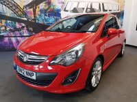 2012 VAUXHALL CORSA SRI 3 DOOR HATCH £4294.00