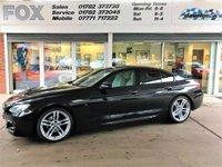 2014 BMW 6 SERIES 3.0 640D M SPORT GRAN COUPE 4d AUTO 309 BHP £17495.00