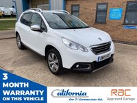 USED 2015 15 PEUGEOT 2008 1.2 S/S ALLURE 5d 82 BHP 1 OWNER - 12 MONTH COMPLIMENTARY BREAKDOWN COVER