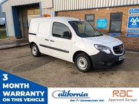 USED 2015 65 MERCEDES-BENZ CITAN 1.5 109 CDI 1d 90 BHP 1 OWNER VEHICLE WITH 12 MONTH RAC BREAKDOWN COVER AND 3 MONTH WARRANTY.