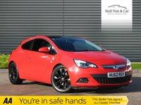 2012 VAUXHALL ASTRA 2.0 GTC SRI CDTI 3d AUTO 162 BHP £6495.00