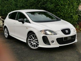 2012 SEAT LEON 2.0 SUPERCOPA FR PLUS CR TDI DSG 5d AUTO 170 BHP £8999.00