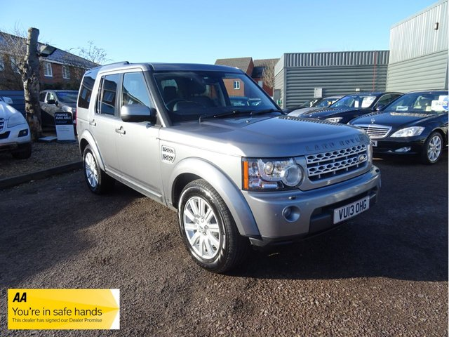USED 2013 13 LAND ROVER DISCOVERY 3.0 4 SDV6 XS 5d AUTO 255 BHP £2920 OPTIONAL EXTRAS FITTED, SERVICE HISTORY, PARK DISTANCE CONTROL