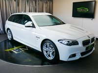 USED 2014 14 BMW 5 SERIES 2.0 520D M SPORT TOURING 5d AUTO 181 BHP £0 DEPOSIT FINANCE AVAILABLE, AIR CONDITIONING, AUTOMATIC TAILGATE OPERATION, AUX INPUT, BLUETOOTH CONNECTIVITY, CLIMATE CONTROL, CRUISE CONTROL, DAB RADIO, DAYTIME RUNNING LIGHTS, DRIVE PERFORMANCE CONTROL, ELECTRONIC PARKING BRAKE WITH AUTO HOLD, FULL LEATHER UPHOLSTERY, HARMON & KARDON HI FI SYSTEM, KEYLESS START, PARKING SENSORS, SATELLITE NAVIGATION, START/STOP SYSTEM, STEERING WHEEL CONTROLS, TRIP COMPUTER