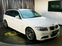 USED 2012 12 BMW 3 SERIES 2.0 320D SPORT PLUS EDITION TOURING 5d AUTO 181 BHP £0 DEPOSIT FINANCE AVAILABLE, AIR CONDITIONING, AUX INPUT, BMW PROFFESSIONAL CD/RADIO PLAYER, CLIMATE CONTROL, CRUISE CONTROL, FULL LEATHER UPHOLSTERY, HEATED SEATS, PUSH BUTTON ENGINE STARTER, STEERING WHEEL CONTROLS, TRIP COMPUTER