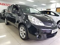 2010 NISSAN NOTE 1.5 N-TEC DCI 5d+BLACK+SERVICE HISTORY+LOW INSURANCE+ £3490.00