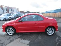 USED 2006 06 PEUGEOT 206 1.6 SPORT COUPE CABRIOLET HDI 2d 108 BHP
