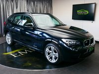 USED 2014 14 BMW X1 2.0 XDRIVE18D M SPORT 5d 141 BHP £0 DEPOSIT FINANCE AVAILABLE, AIR CONDITIONING, AUX INPUT, BMW PROFESSIONAL CD/RADIO PLAYER, CLIMATE CONTROL, CRUISE CONTROL, DAB RADIO, ECO PRO MODE, FULL NEVADA LEATHER UPHOLSTERY, HILL DESCENT CONTROL, PARKING SENSORS, PERFORMANCE CONTROL, STEERING WHEEL CONTROLS, TRIP COMPUTER, XDRIVE TECHNOLOGY