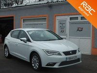 USED 2015 64 SEAT LEON 1.6 TDI SE TECHNOLOGY 5d 105 BHP 1 owner, Touch Screen Sat Nav, Stunning Looking Car.