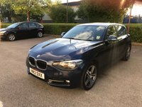 USED 2012 12 BMW 1 SERIES 2.0 118D SPORT 5d AUTO 141 BHP