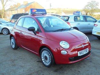 2012 FIAT 500 1.2 POP 3d 69 BHP * ALLOYS* LEATHER TOP TRIM * STUNNING* £SOLD