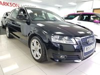 2009 AUDI A3 1.9 TDI E SPORT 5d+SERVICE HISTORY+LOW MILEAGE+LOW INSURANCE