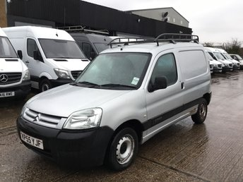 2005 CITROEN BERLINGO 2.0 HDI LX 600  90BHP. ROOF RACK. SILVER. LOW MILES. BARGAIN. £850.00