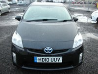 USED 2010 10 TOYOTA PRIUS 1.8 T SPIRIT VVT-I 5d AUTO 99 BHP 1 Previous owner - Sat nav - Leather - Free road tax - 60+ mpg