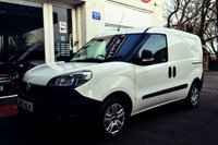 USED 2016 16 FIAT DOBLO 1.2 16V MULTIJET 1d 90 BHP EXCELLENT LOW MILEAGE VAN WITH SIDE DOOR AND PLYLINED LOAD AREA