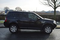 USED 2010 59 LAND ROVER FREELANDER 2 2.2 TD4 E S 5d 159 BHP SERVICE HISTORY, REAR PRIVACY GLASS, 6 SPEED MANUAL, CD RADIO
