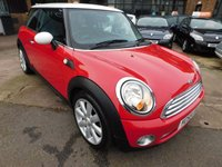 2009 MINI HATCH COOPER 1.6 COOPER 3d 118 BHP £3899.00