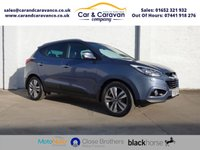 USED 2014 63 HYUNDAI IX35 1.7 PREMIUM CRDI 5d 114 BHP Full Service History NAV A/C Buy Now, Pay Later Finance!