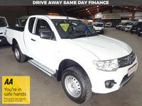 """USED 2014 14 MITSUBISHI L200 2.5 DI-D 4X4 4LIFE CLUB CAB KING CAB  PICK UP 134 BHP """"YOU'RE IN SAFE HANDS"""" - AA DEALER PROMISE"""