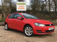 USED 2013 13 VOLKSWAGEN GOLF 1.4 SE TSI BLUEMOTION TECHNOLOGY 5dr Full VW Service History