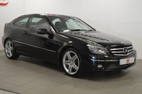 USED 2008 58 MERCEDES-BENZ CLC CLASS 2.1 CLC220 CDI SPORT 3d AUTO 150 BHP SAT NAV + TWO TONE LEATHER + LOW MILES + SERVICE HISTORY
