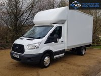 USED 2016 66 FORD TRANSIT LUTON 2.2 350 3d 155 BHP TAIL LIFT ELECTRIC WINDOWS NATIONWIDE DELIVERY, RESERVE NOW 0161 338 8787