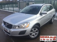 USED 2012 61 VOLVO XC60 2.4 D5 SE AWD 5d 212 BHP 4D LEATHER TOWBAR FSH 4WD. STUNNING SILVER MET WITH PART BLACK LEATHER TRIM. CRUISE CONTROL. 17 INCH ALLOYS. COLOUR CODED TRIMS. PARKING SENSORS. BLUETOOTH PREP. CLIMATE CONTROL INCLUDING AIR CON. TRIP COMPUTER. R/CD PLAYER. MFSW. TOWBAR. MOT 01/20. ONE PREV OWNER. FULL SERVICE HISTORY. SUV & 4X4 CAR CENTRE LS23 7FR. TEL 01937 849492 OPTION 2