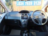 USED 2011 11 TOYOTA YARIS 1.3 T SPIRIT MM VVT-I 5d AUTO 99 BHP SAT NAV, AIR CON, FSH
