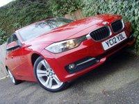 2012 BMW 3 SERIES 2.0 318D SPORT 4d 141 BHP £8999.00