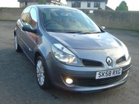 USED 2008 58 RENAULT CLIO 1.1 DYNAMIQUE 16V 3d 75 BHP