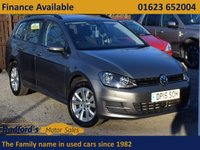 USED 2015 15 VOLKSWAGEN GOLF 1.4 SE TSI BLUEMOTION TECHNOLOGY DSG 5d AUTO 120 BHP