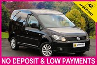 USED 2015 64 VOLKSWAGEN CADDY 1.6 TDI HIGHLINE BLUEMOTION TECH C20 PANEL VAN BLUETOOTH CRUISE ALLOY WHEELS AIR CONDITIONING