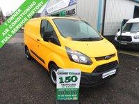 2014 FORD TRANSIT CUSTOM 2.2 310 125 BHP 1 OWNER FROM NEW FULL SERVICE HISTORY £6595.00